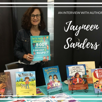 An interview with author Jayneen Sanders