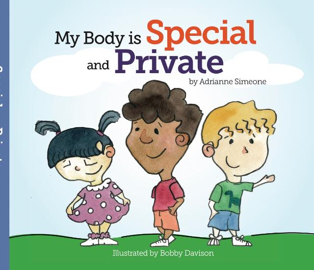 Book Cover Image for My Body is Special and Private