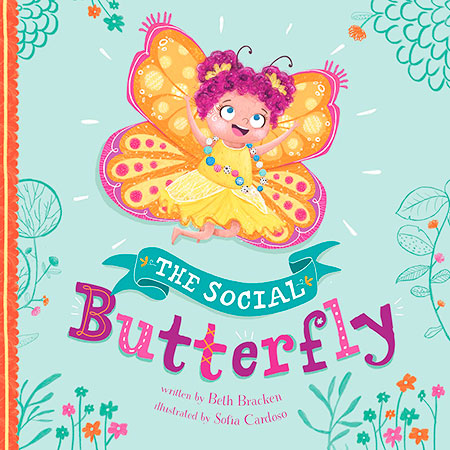 Book Cover Image for The Social Butterfly