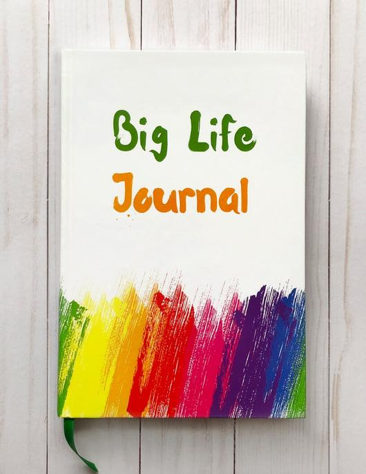 Book Cover Image for Big Life Journal – Kids Edition (7 to 10 years)