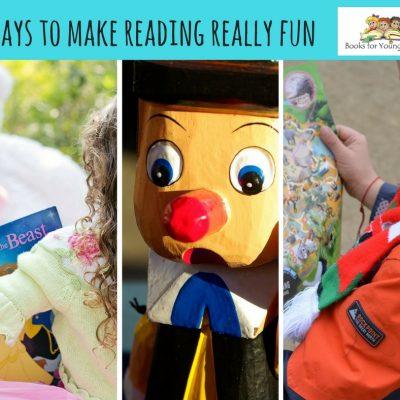 Ways to make reading really fun