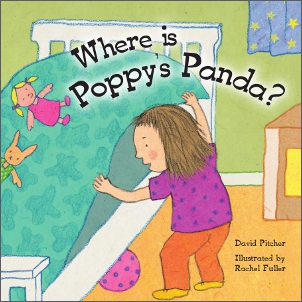 Book Cover Image for Where is Poppy's Panda?