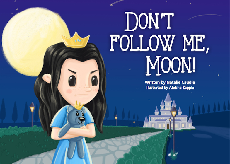 Book Cover Image for Don't Follow Me, Moon! – Coming soon!